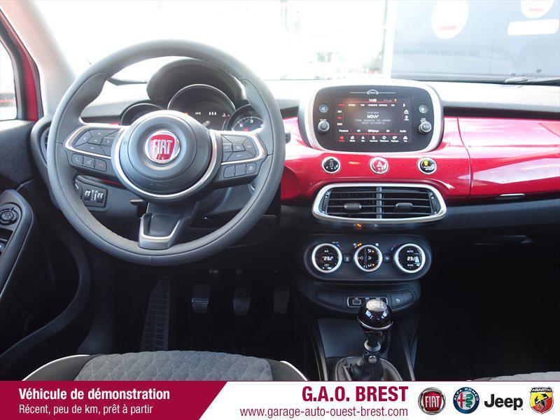 Photo 8 de l'offre de FIAT 500X 1.6 Multijet 120ch City Cross Business à 20990€ chez Garage Auto de l'Ouest - Brest