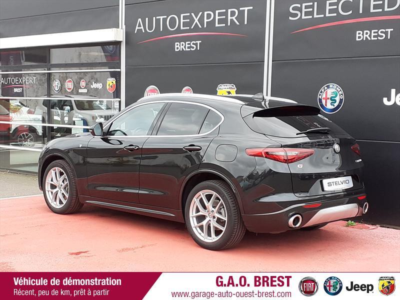 Photo 5 de l'offre de ALFA ROMEO Stelvio 2.2 Diesel 210ch Ti Q4 AT8 MY20 à 49990€ chez Garage Auto de l'Ouest - Brest