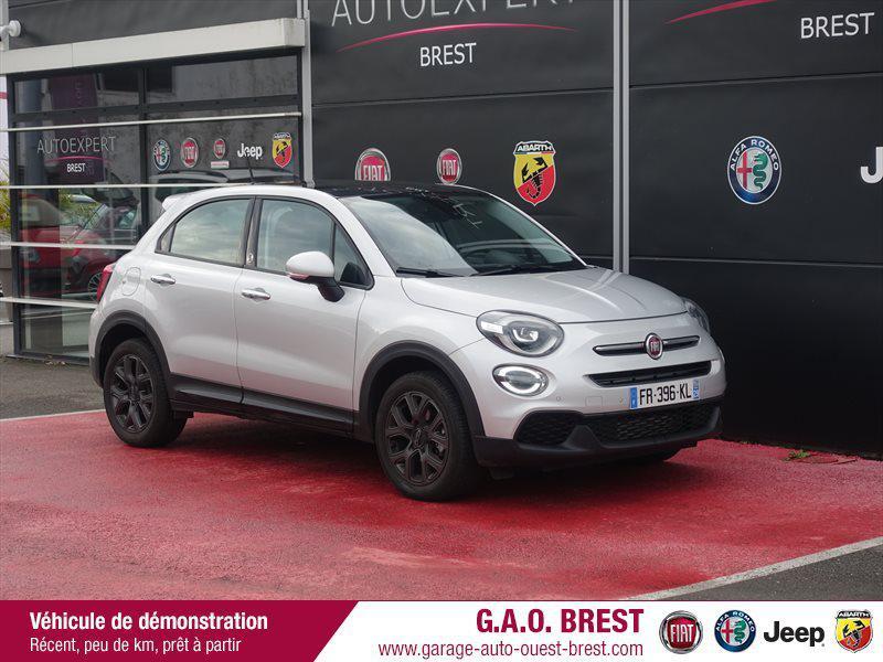 Fiat 500X 1.6 Multijet 120ch  120th Diesel gris Argento métallisé Occasion à vendre