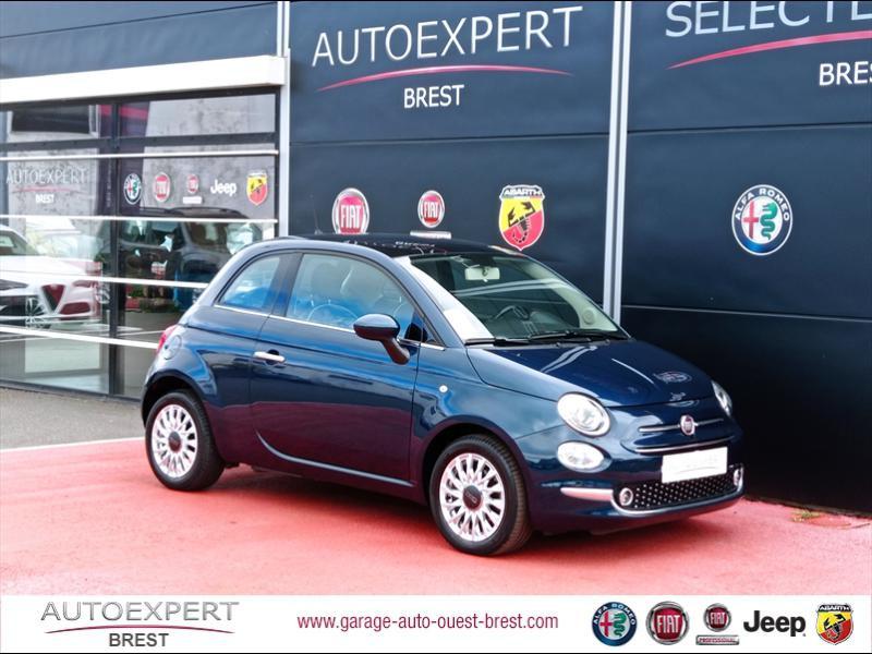 Fiat 500 1.2 8v 69ch Eco Pack Lounge Essence Coloris Métal Epic Blue Occasion à vendre