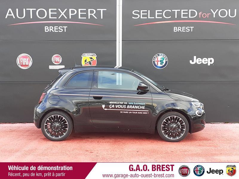 Photo 8 de l'offre de FIAT 500 e 118ch France Edition à 31490€ chez Garage Auto de l'Ouest - Brest