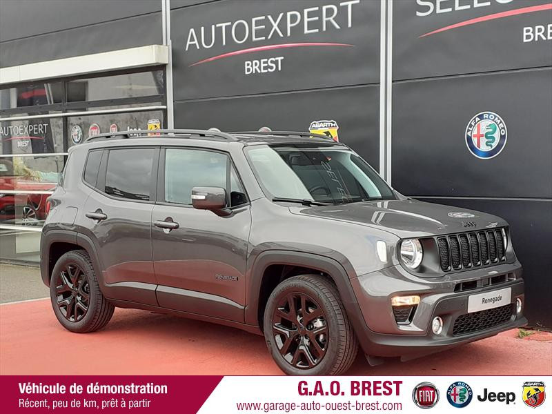 Jeep Renegade 1.0 GSE T3 120ch Limited MY21 Essence Granite Crystal Occasion à vendre