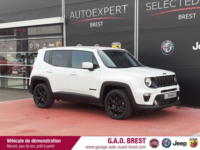 Jeep Renegade 1.3 GSE T4 190ch 4xe Brooklyn Edition AT6 Hybride rechargeable : Essence/Electrique Alpine White Occasion à vendre
