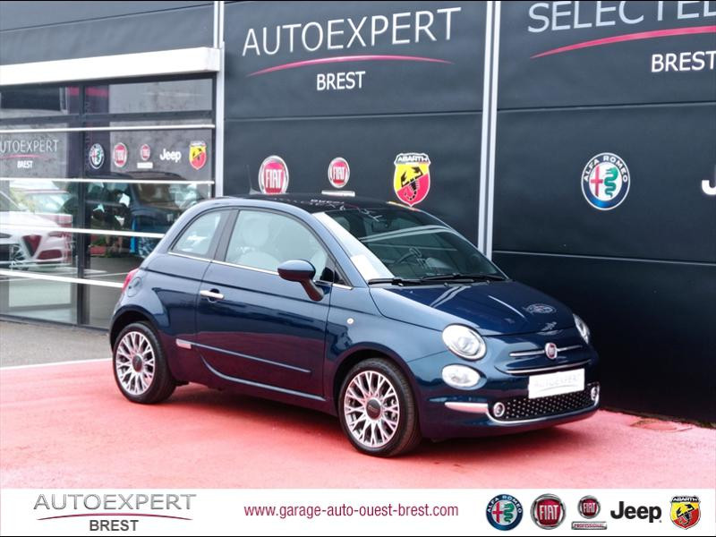 Fiat 500 1.0 70ch BSG S&S Star Essence/Micro-Hybride Coloris Métal Epic Blue Occasion à vendre