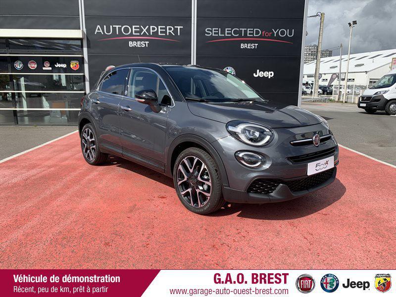 Fiat 500X 1.6 Multijet 120ch Elysia Diesel Gris Moda / Toit Noir Occasion à vendre