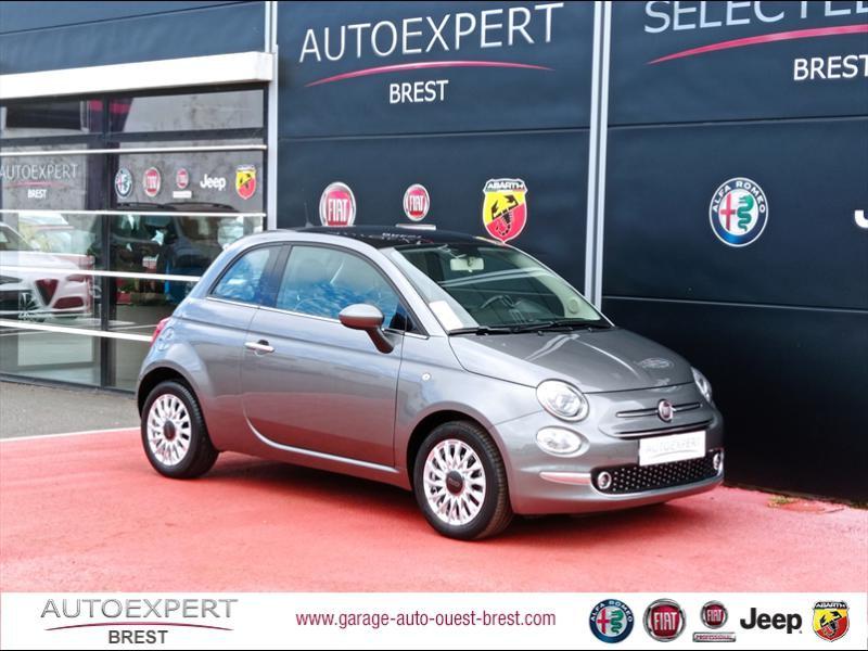 Fiat 500 1.2 8v 69ch Lounge Essence Coloris Métal Electroclash Grey Occasion à vendre