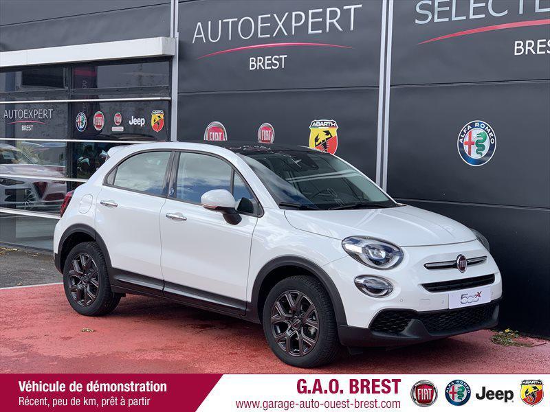 Fiat 500X 1.6 Multijet 120ch  120th Diesel Blanc Gelato pastel Occasion à vendre