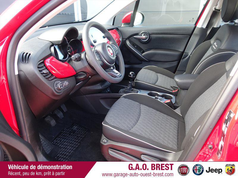 Photo 11 de l'offre de FIAT 500X 1.6 Multijet 120ch City Cross Business à 20990€ chez Garage Auto de l'Ouest - Brest