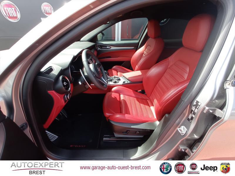 Photo 15 de l'offre de ALFA ROMEO Stelvio 2.2 Diesel 180ch Sport Edition AT8 à 29990€ chez Garage Auto de l'Ouest - Brest