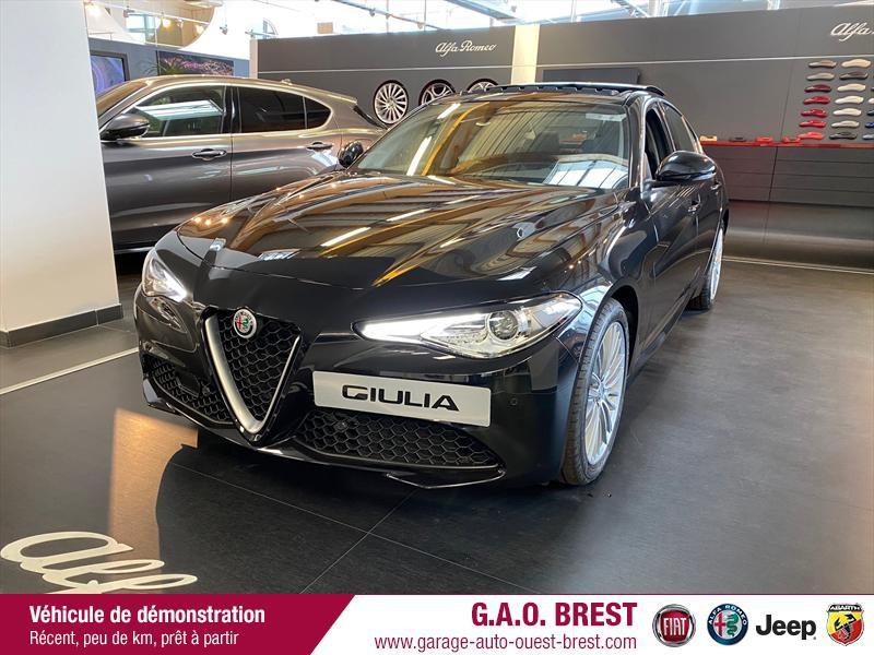 Alfa Romeo Giulia 2.2 JTD 190ch Executive AT8 MY19 Diesel Noir Vulcano Occasion à vendre