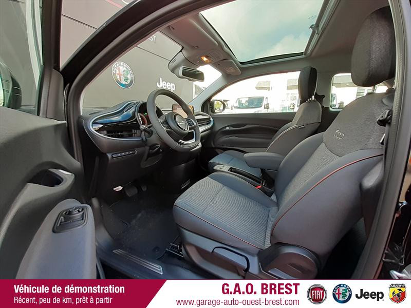 Photo 9 de l'offre de FIAT 500 e 118ch France Edition à 31490€ chez Garage Auto de l'Ouest - Brest