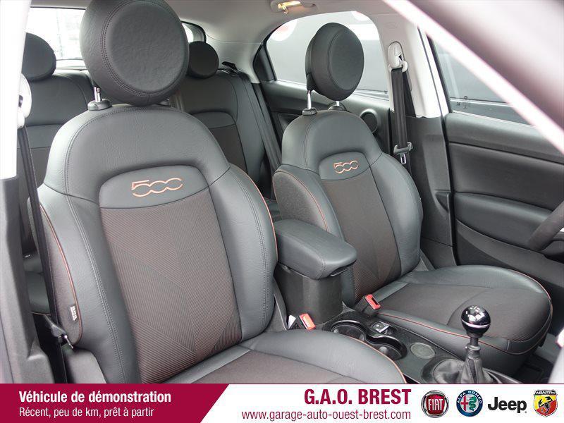 Photo 10 de l'offre de FIAT 500X 1.6 Multijet 120ch  120th à 21490€ chez Garage Auto de l'Ouest - Brest