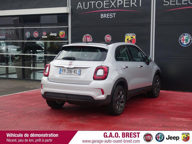 Photo 5 de l'offre de FIAT 500X 1.6 Multijet 120ch  120th à 21490€ chez Garage Auto de l'Ouest - Brest