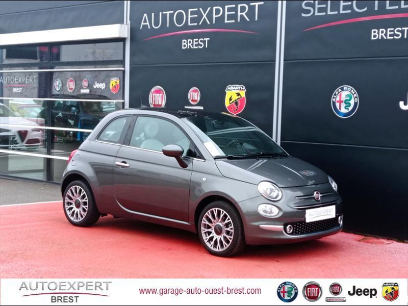 Photo 1 de l'offre de FIAT 500 1.2 8v 69ch Eco Pack Star à 11390€ chez Garage Auto de l'Ouest - Brest