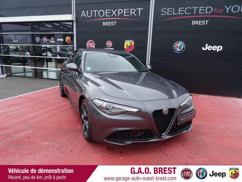 Alfa Romeo Giulia 2.2 JTD 190ch Sprint AT8 MY20 Diesel Gris Vesuvio Occasion à vendre