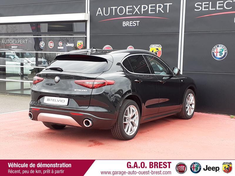 Photo 7 de l'offre de ALFA ROMEO Stelvio 2.2 Diesel 210ch Ti Q4 AT8 MY20 à 49990€ chez Garage Auto de l'Ouest - Brest