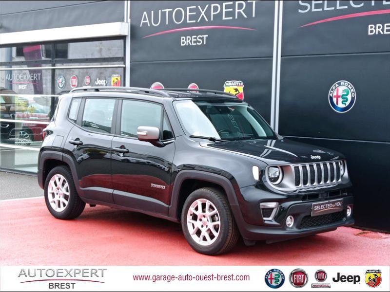 Jeep Renegade 1.6 MultiJet 120ch Limited Diesel Carbon Black Occasion à vendre