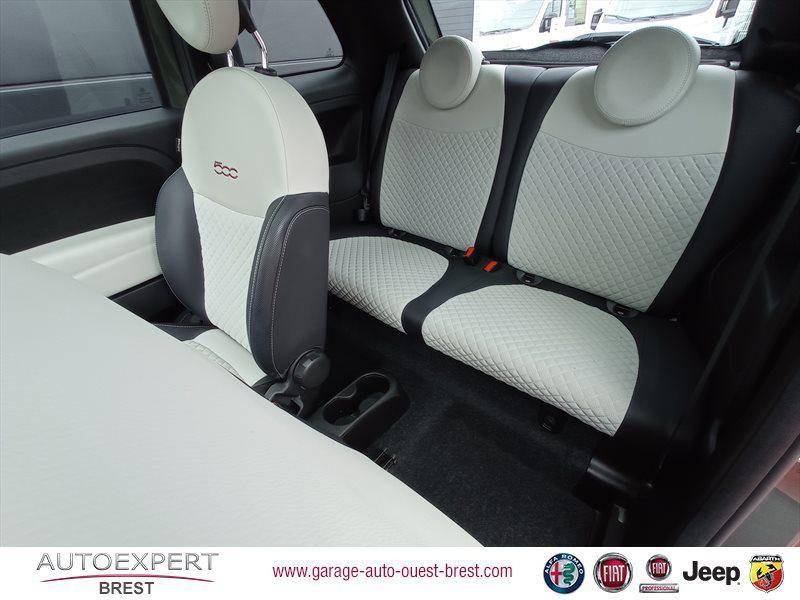 Photo 15 de l'offre de FIAT 500 1.2 8v 69ch Eco Pack Star à 11390€ chez Garage Auto de l'Ouest - Brest
