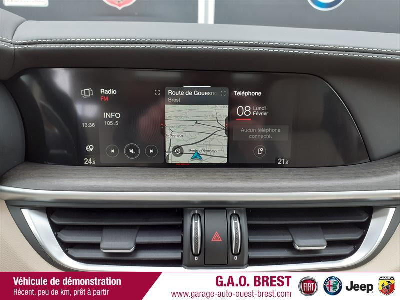 Photo 18 de l'offre de ALFA ROMEO Stelvio 2.2 Diesel 210ch Ti Q4 AT8 MY20 à 49990€ chez Garage Auto de l'Ouest - Brest