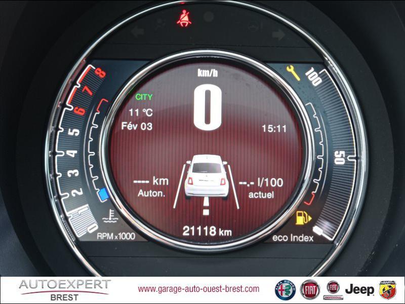 Photo 10 de l'offre de FIAT 500 1.2 8v 69ch Eco Pack Star à 11390€ chez Garage Auto de l'Ouest - Brest