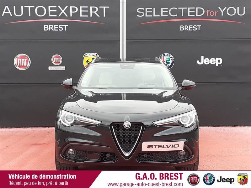 Photo 2 de l'offre de ALFA ROMEO Stelvio 2.2 Diesel 210ch Ti Q4 AT8 MY20 à 49990€ chez Garage Auto de l'Ouest - Brest