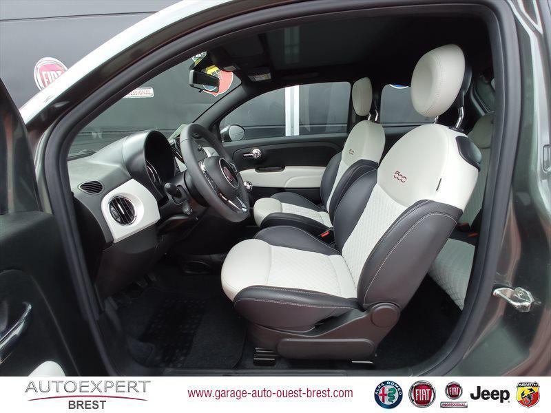 Photo 13 de l'offre de FIAT 500 1.2 8v 69ch Eco Pack Star à 11390€ chez Garage Auto de l'Ouest - Brest
