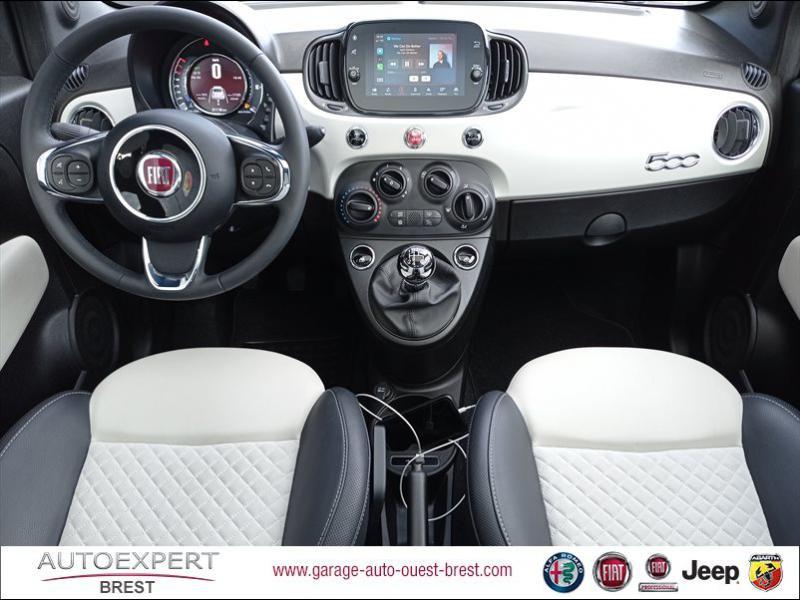 Photo 12 de l'offre de FIAT 500 1.2 8v 69ch Eco Pack Star à 11390€ chez Garage Auto de l'Ouest - Brest