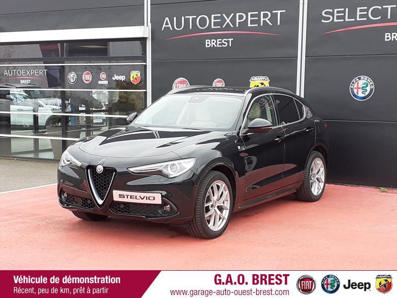 Photo 3 de l'offre de ALFA ROMEO Stelvio 2.2 Diesel 210ch Ti Q4 AT8 MY20 à 49990€ chez Garage Auto de l'Ouest - Brest