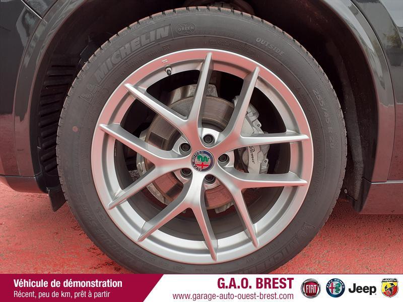 Photo 10 de l'offre de ALFA ROMEO Stelvio 2.2 Diesel 210ch Ti Q4 AT8 MY20 à 49990€ chez Garage Auto de l'Ouest - Brest