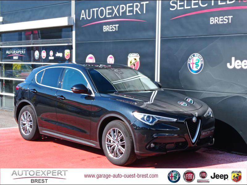 Alfa Romeo Stelvio 2.2 Diesel 190ch Executive AT8 MY19 Diesel Noir Vulcano Occasion à vendre