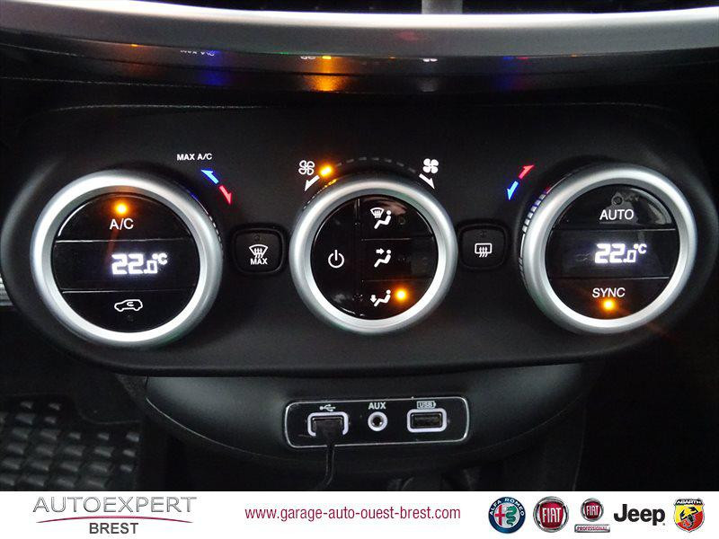 Photo 15 de l'offre de FIAT 500X 1.3 FireFly Turbo T4 150ch Cross DCT à 18590€ chez Garage Auto de l'Ouest - Brest