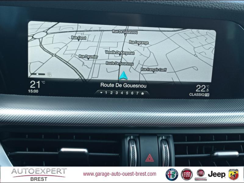 Photo 11 de l'offre de ALFA ROMEO Stelvio 2.2 Diesel 180ch Sport Edition AT8 à 29990€ chez Garage Auto de l'Ouest - Brest