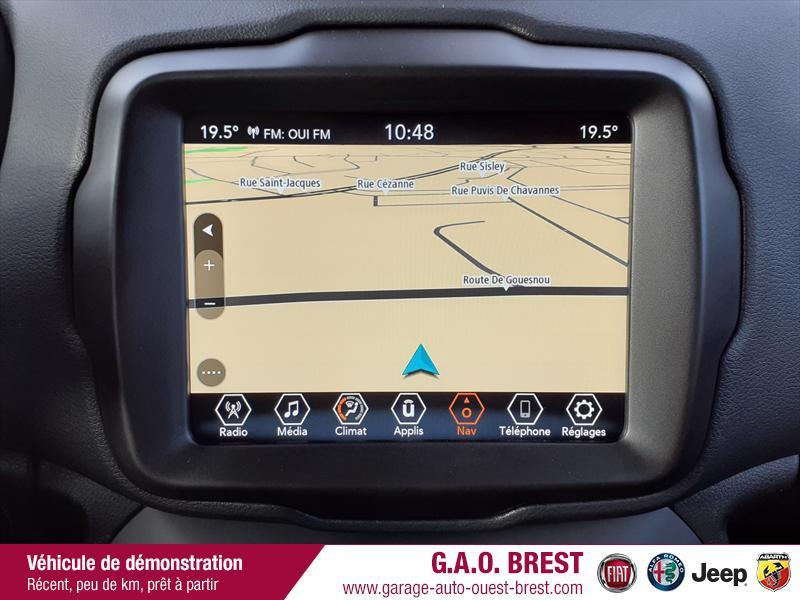 Photo 14 de l'offre de JEEP Renegade 1.6 MultiJet 130ch 80TH Anniversary MY21 à 27990€ chez Garage Auto de l'Ouest - Brest
