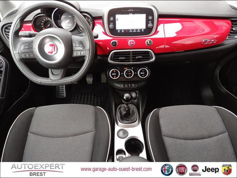 Fiat 500X 1.6 E-torQ 110ch Popstar Business Essence rouge Passione pastel Occasion à vendre