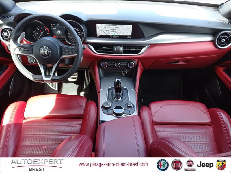 Photo 9 de l'offre de ALFA ROMEO Stelvio 2.2 Diesel 180ch Sport Edition AT8 à 29990€ chez Garage Auto de l'Ouest - Brest