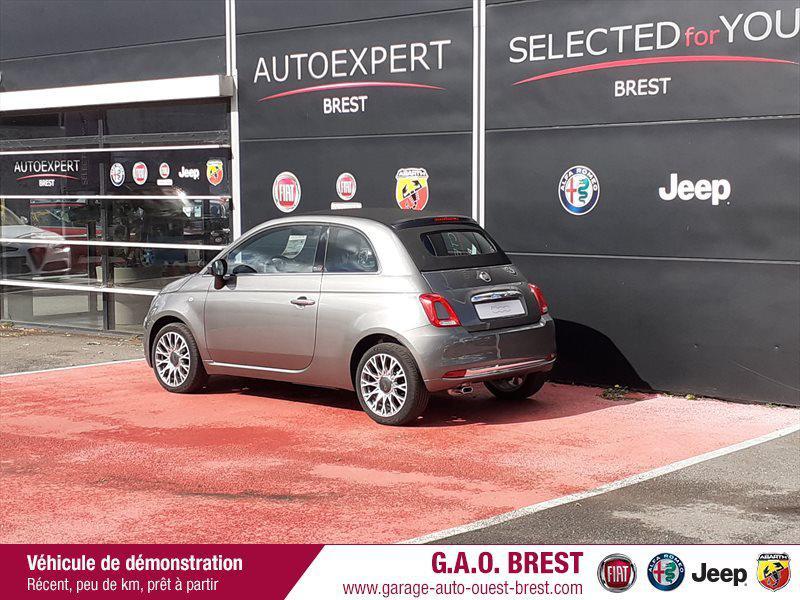 Photo 6 de l'offre de FIAT 500C 1.2 8v 69ch S&S Star   Dualogic à 16990€ chez Garage Auto de l'Ouest - Brest