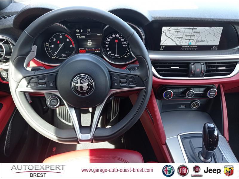 Photo 10 de l'offre de ALFA ROMEO Stelvio 2.2 Diesel 180ch Sport Edition AT8 à 29990€ chez Garage Auto de l'Ouest - Brest