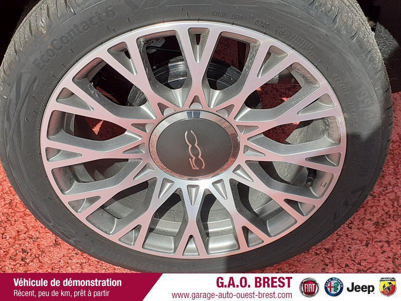 Photo 11 de l'offre de FIAT 500C 1.2 8v 69ch S&S Star   Dualogic à 16990€ chez Garage Auto de l'Ouest - Brest