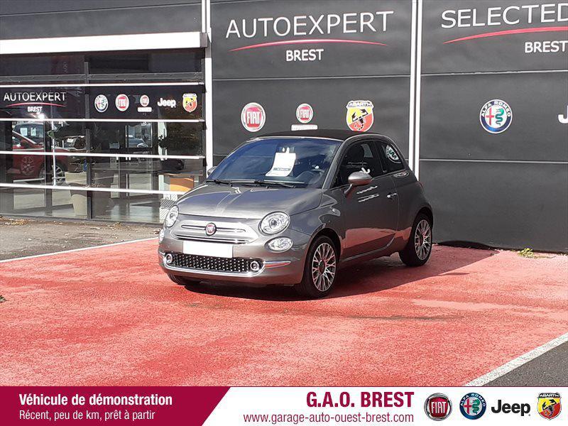 Photo 3 de l'offre de FIAT 500C 1.2 8v 69ch S&S Star   Dualogic à 16990€ chez Garage Auto de l'Ouest - Brest