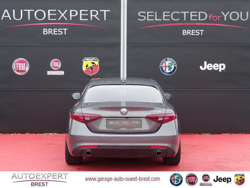 Photo 7 de l'offre de ALFA ROMEO Giulia 2.2 JTD 180ch Lusso AT8 à 25990€ chez Garage Auto de l'Ouest - Brest