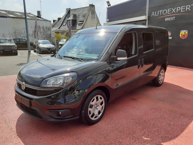 Fiat Doblo Cargo Maxi 1.6 Multijet 105ch Cabine Approfondie Evoluzione Diesel Noir Occasion à vendre