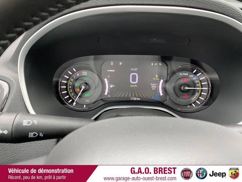 Photo 12 de l'offre de JEEP Compass 1.3 GSE T4 240ch S 4xe PHEV AT6 à 36990€ chez Garage Auto de l'Ouest - Brest