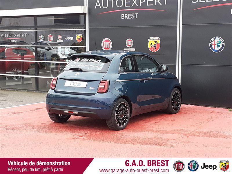 Photo 8 de l'offre de FIAT 500 e 118ch La Prima à 28490€ chez Garage Auto de l'Ouest - Brest