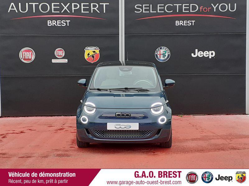 Photo 3 de l'offre de FIAT 500 e 118ch La Prima à 28490€ chez Garage Auto de l'Ouest - Brest