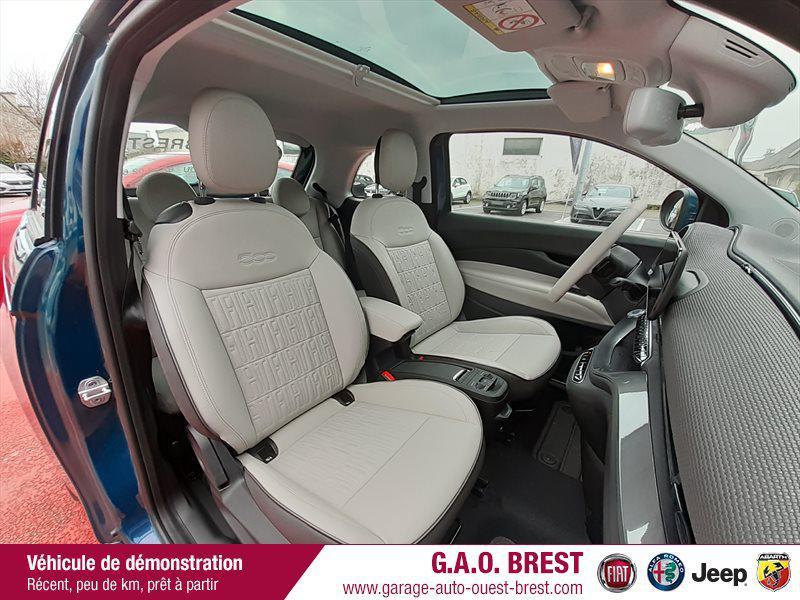 Photo 9 de l'offre de FIAT 500 e 118ch La Prima à 28490€ chez Garage Auto de l'Ouest - Brest