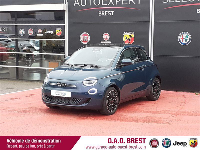 Photo 2 de l'offre de FIAT 500 e 118ch La Prima à 28490€ chez Garage Auto de l'Ouest - Brest