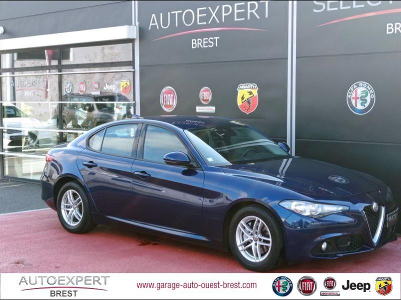 Alfa Romeo Giulia 2.2 JTD 150ch Diesel Bleu Montecarlo Occasion à vendre