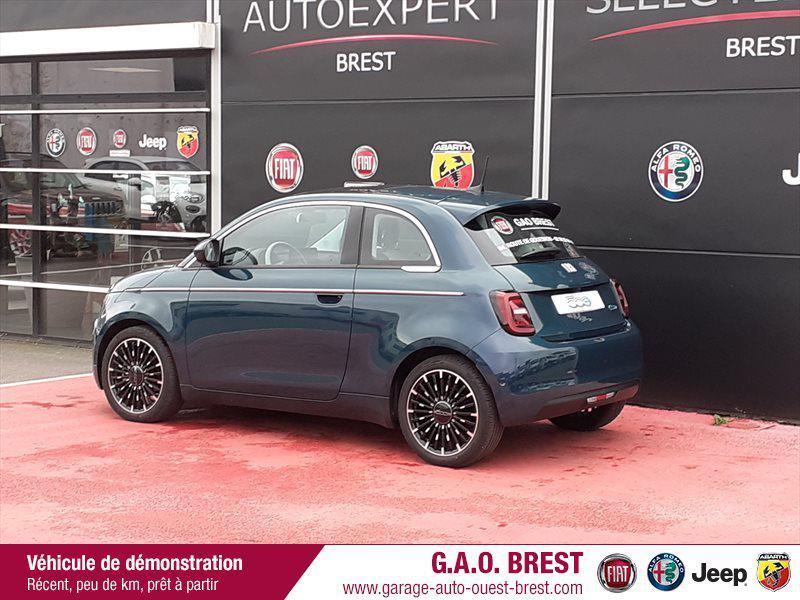 Photo 7 de l'offre de FIAT 500 e 118ch La Prima à 28490€ chez Garage Auto de l'Ouest - Brest