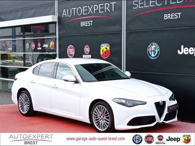 Alfa Romeo Giulia 2.2 JTD 210ch Veloce Q4 AT8 Diesel Blanc Alfa Occasion à vendre
