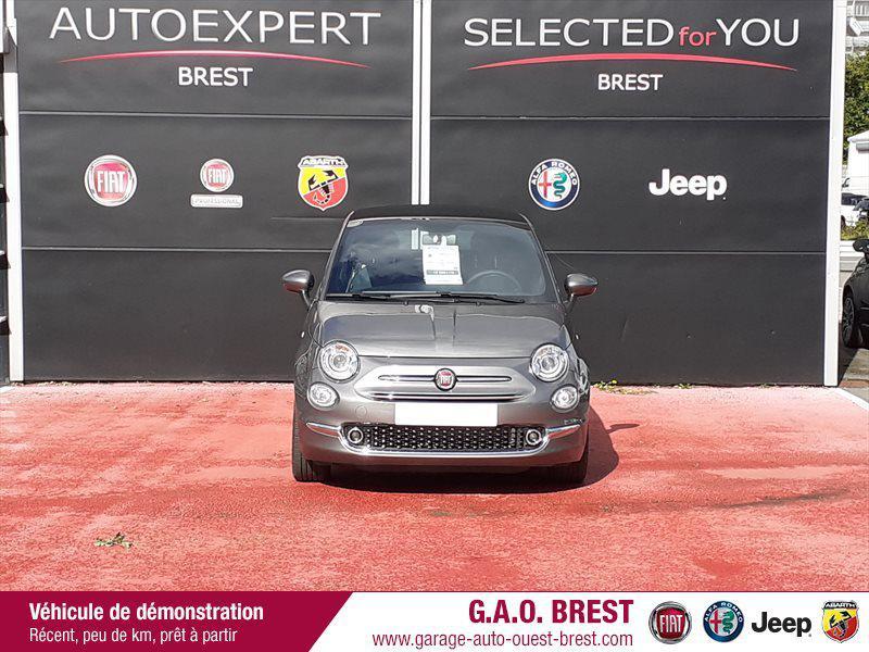 Photo 2 de l'offre de FIAT 500C 1.2 8v 69ch S&S Star   Dualogic à 16990€ chez Garage Auto de l'Ouest - Brest